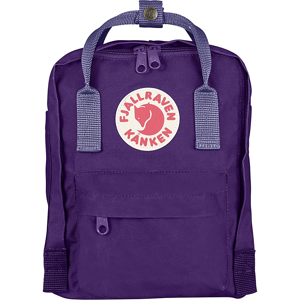 Fjallraven Kanken Mini Backpack Purple-Violet - Fjallraven Everyday Backpacks