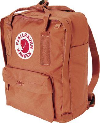 Fjallraven Kanken Mini Backpack Brick - Fjallraven Everyday Backpacks