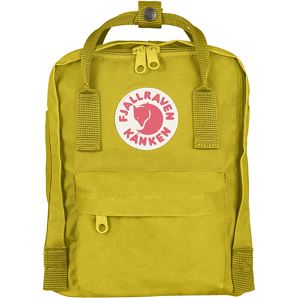 Fjallraven Kanken Mini Backpack Birch Green - Fjallraven Everyday Backpacks