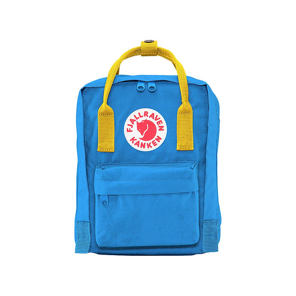 Fjallraven Kanken Mini Backpack UN Blue-Warm Yellow - Fjallraven Everyday Backpacks - Backpacks, Everyday Backpacks