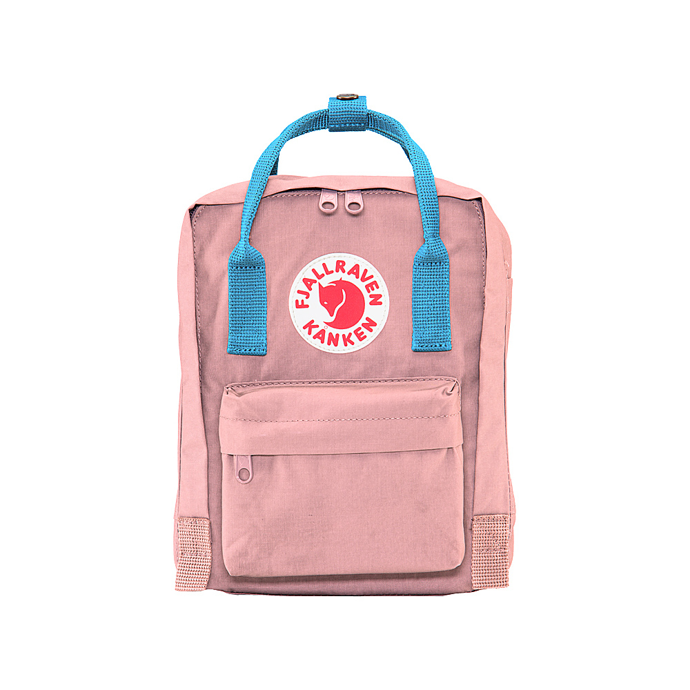 Fjallraven Kanken Mini Backpack Pink-Air Blue - Fjallraven Everyday Backpacks - Backpacks, Everyday Backpacks
