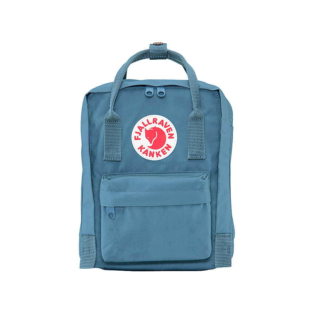 Fjallraven Kanken Mini Backpack Blue Ridge - Fjallraven Everyday Backpacks - Backpacks, Everyday Backpacks