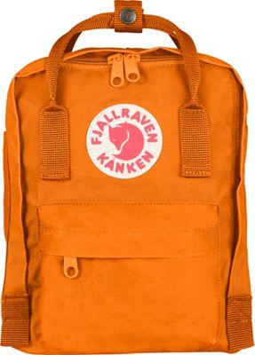 Fjallraven Kanken Mini Backpack Burnt Orange - Fjallraven Everyday Backpacks