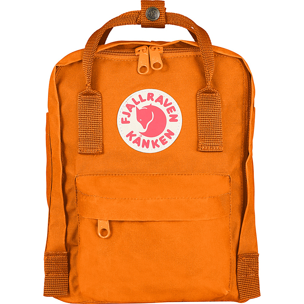 Fjallraven Kanken Mini Backpack Burnt Orange - Fjallraven Everyday Backpacks