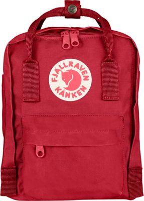 Fjallraven Kanken Mini Backpack Deep Red - Fjallraven Everyday Backpacks
