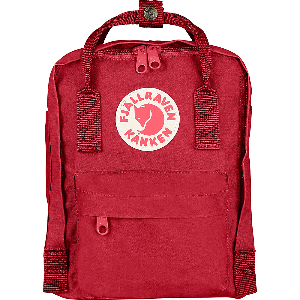 Fjallraven Kanken Mini Backpack Deep Red - Fjallraven Everyday Backpacks