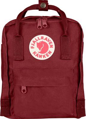 Fjallraven Kanken Mini Backpack Ox Red - Fjallraven Everyday Backpacks