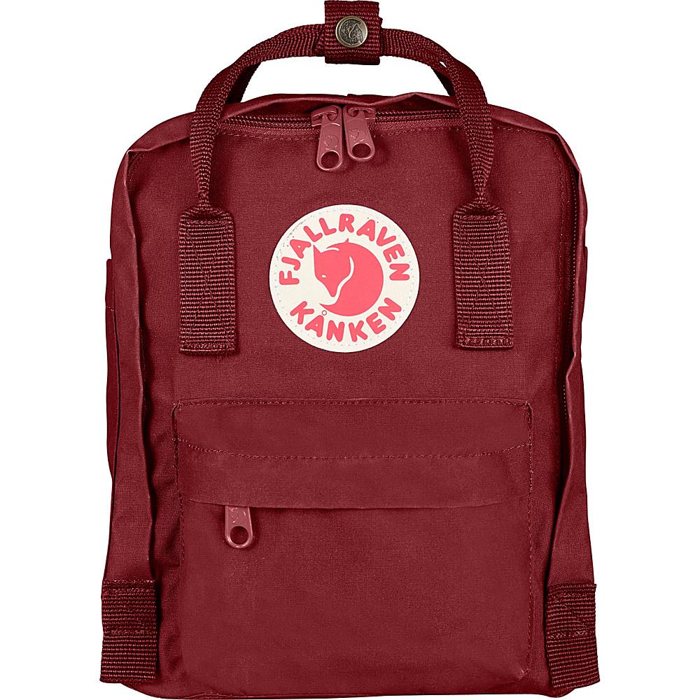 Fjallraven Kanken Mini Backpack Ox Red - Fjallraven Everyday Backpacks - Backpacks, Everyday Backpacks
