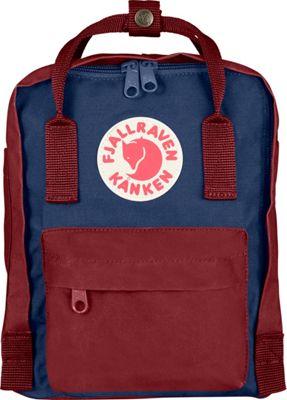Fjallraven Kanken Mini Backpack Royal Blue-Ox Red - Fjallraven Everyday Backpacks