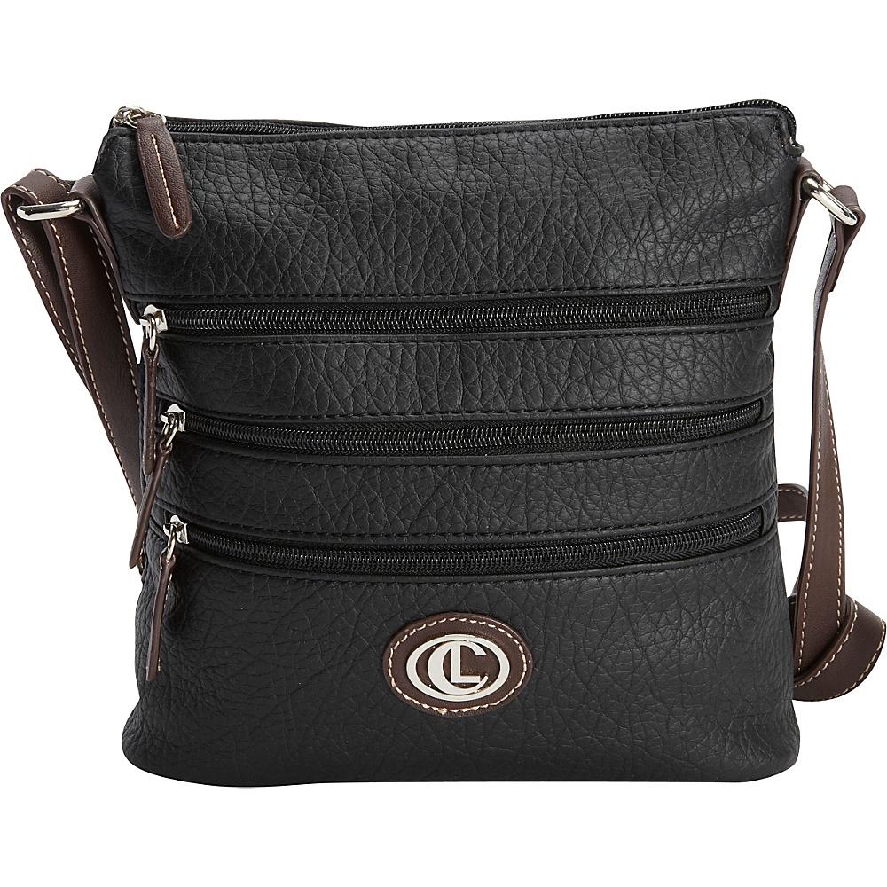 Aurielle Carryland Zipgeist Crossbody Black Aurielle Carryland Manmade Handbags