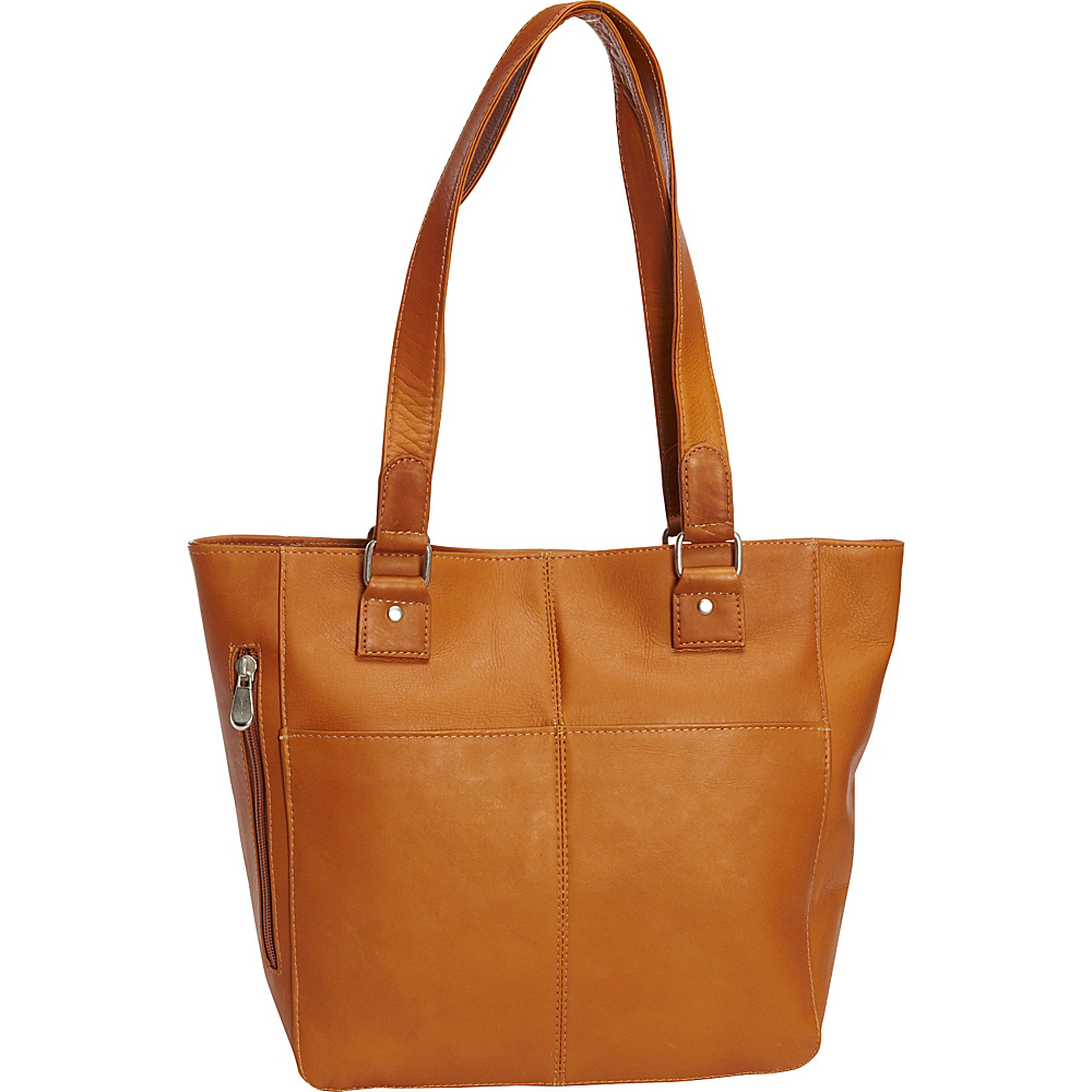 Le Donne Leather Garrowby Tote Tan - Le Donne Leather Leather Handbags - Handbags, Leather Handbags