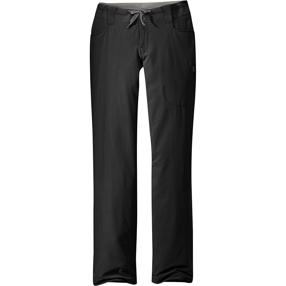Outdoor Research Womens Ferrosi Pants 6 - Black - Outdoor Research Womens Apparel - Apparel & Footwear, Women's Apparel