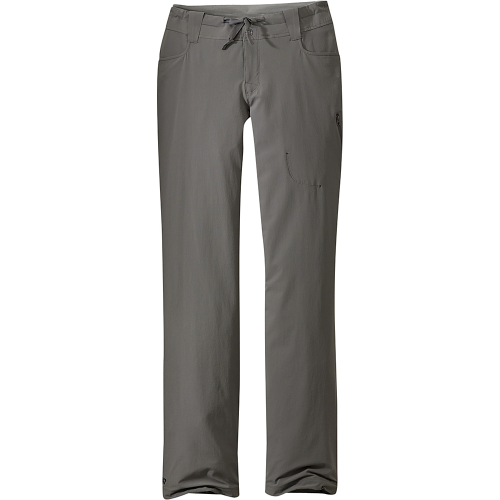 Outdoor Research Womens Ferrosi Pants 4 - Pewter - Outdoor Research Womens Apparel - Apparel & Footwear, Women's Apparel