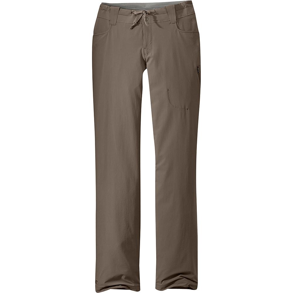 Outdoor Research Womens Ferrosi Pants 4 - Mushroom - Outdoor Research Womens Apparel - Apparel & Footwear, Women's Apparel