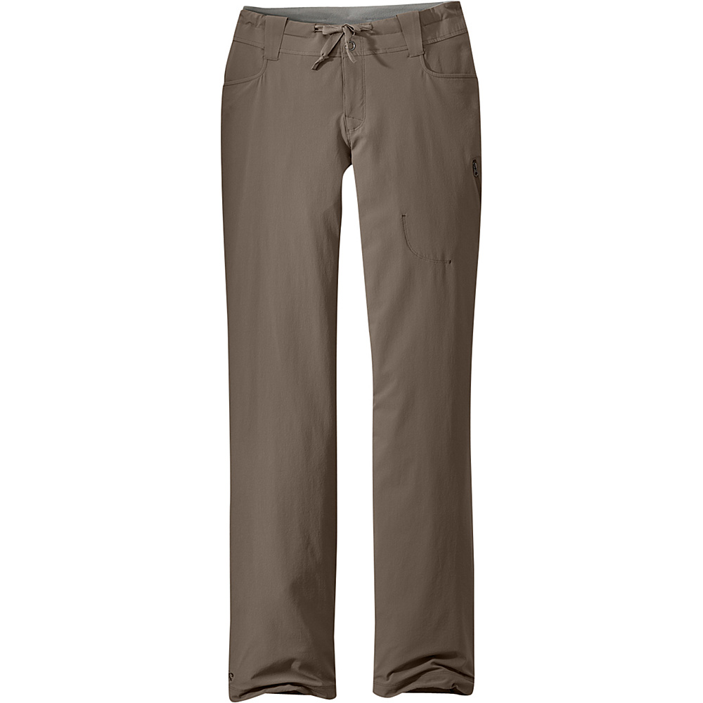 Outdoor Research Womens Ferrosi Pants 6 - Mushroom - Outdoor Research Womens Apparel - Apparel & Footwear, Women's Apparel