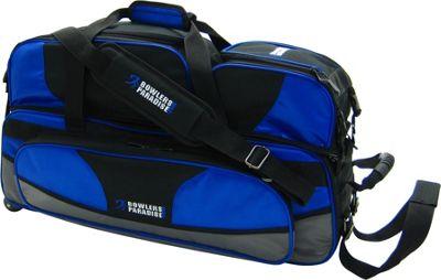 Bowler's Paradise Triple Tote Plus Blue - Bowler's Paradise Bowling Bags