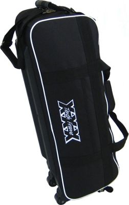 Tenth Frame Tenth Frame Glide Triple Tote Black - Tenth Frame Bowling Bags
