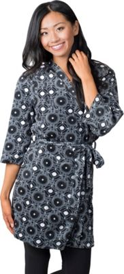 Soybu Fleece Spa Robe S/M - White Plates - Soybu Women's Apparel