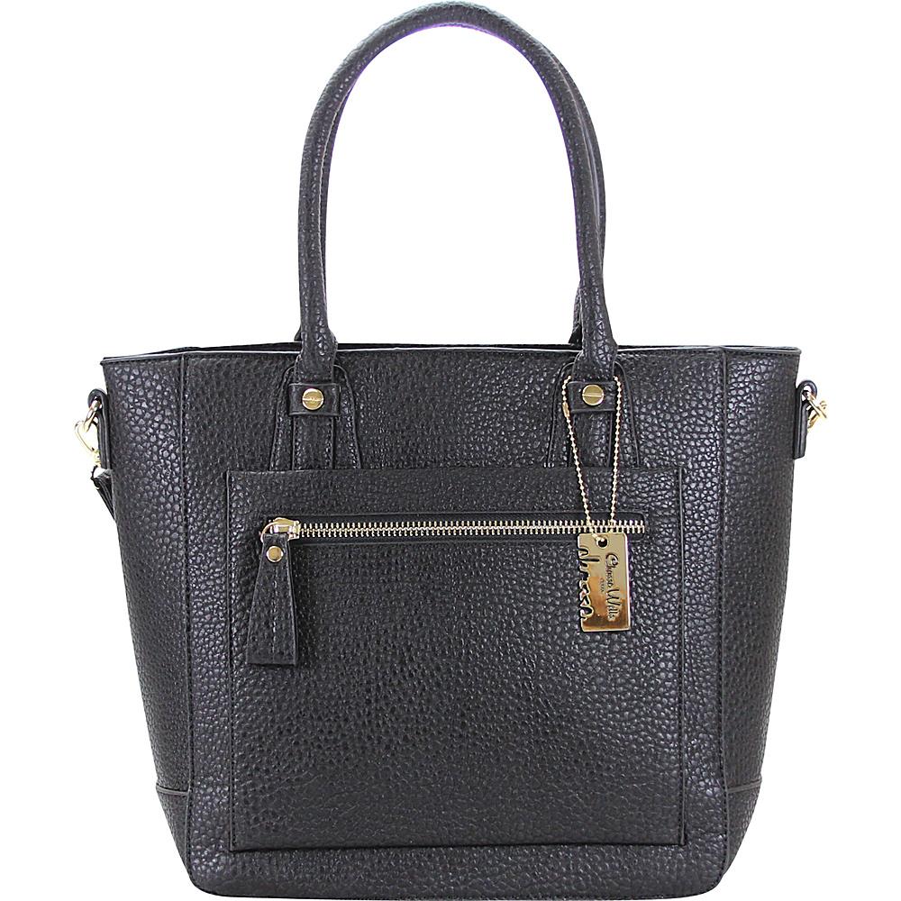 Chasse Wells Ecartement Tote Black Chasse Wells Manmade Handbags