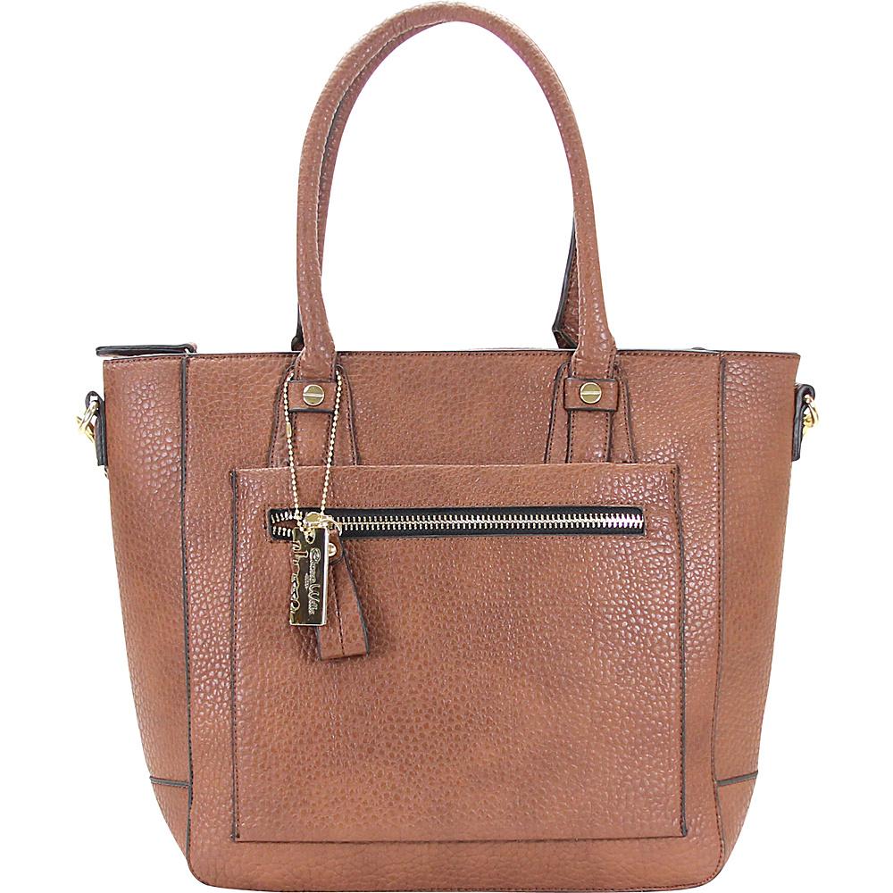 Chasse Wells Ecartement Tote Brown Chasse Wells Manmade Handbags