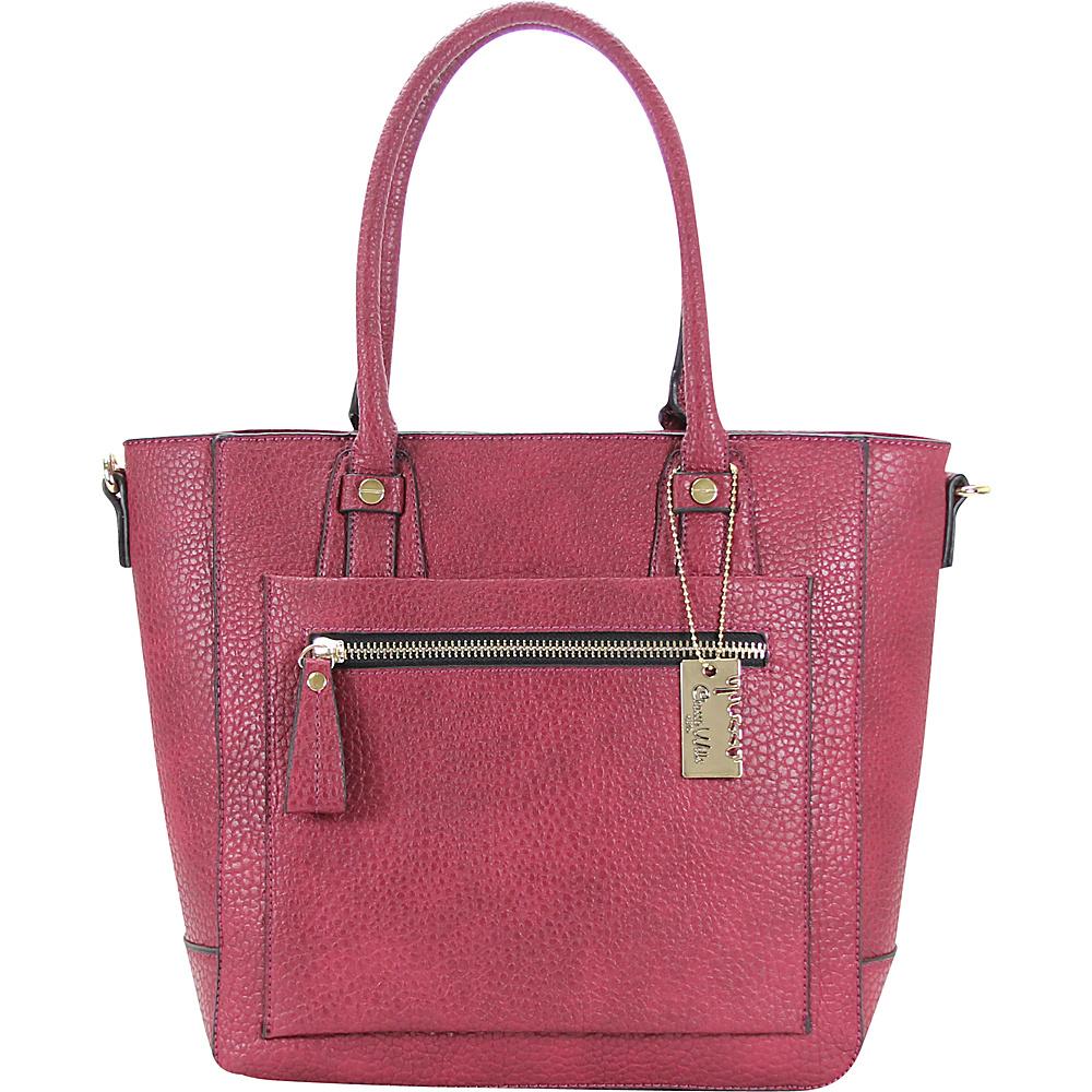 Chasse Wells Ecartement Tote Plum Chasse Wells Manmade Handbags
