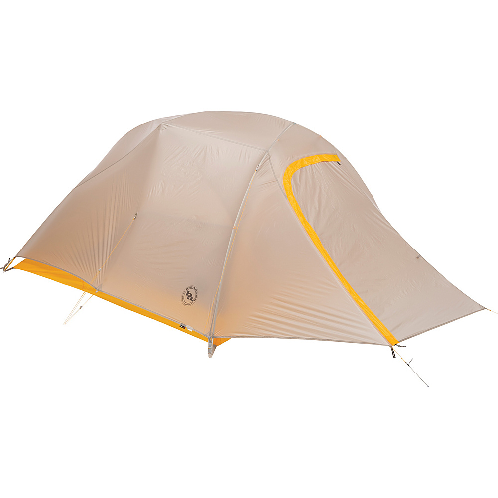Big Agnes Fly Creek UL 3 Person Tent Silver Gold Big Agnes Outdoor Accessories