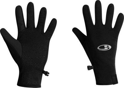 Icebreaker Quantum Gloves M - Black - Icebreaker Hats/Gloves/Scarves