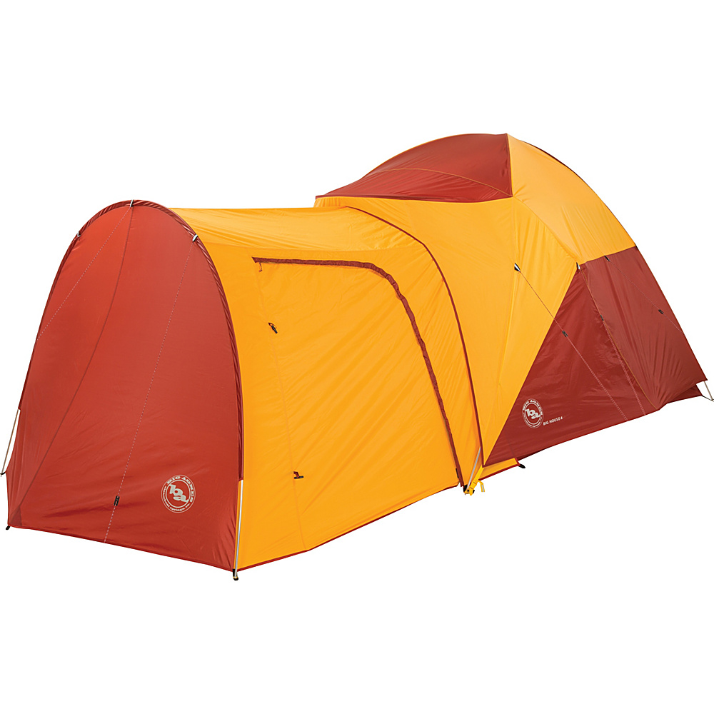 Big Agnes Big House 6 Person Vestibule Yellow Red 6 Person Big Agnes Outdoor Accessories