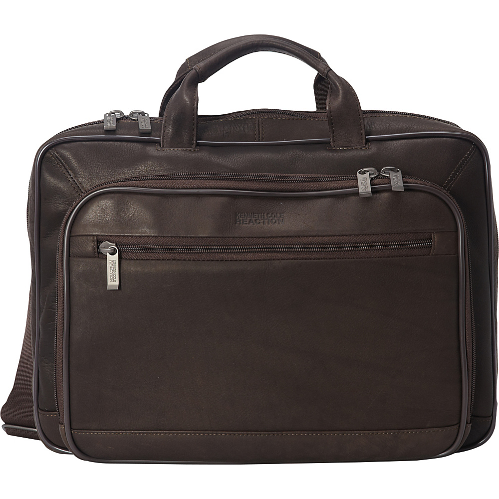 Kenneth Cole Reaction Point Of De Port Ure Brown Kenneth Cole Reaction Non Wheeled Business Cases