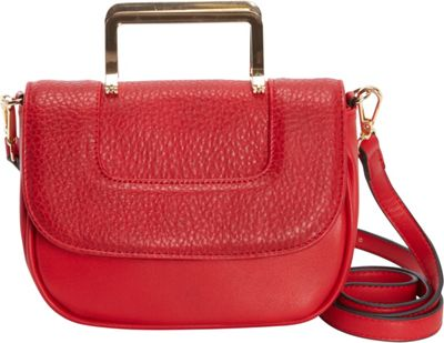 Diophy Convertible Crossbody Red - Diophy Manmade Handbags