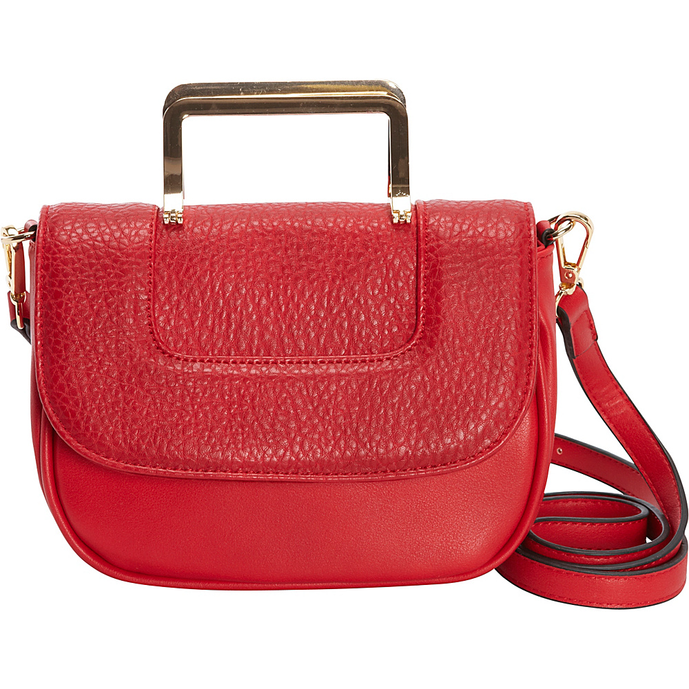Diophy Convertible Crossbody Red Diophy Manmade Handbags