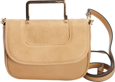 Diophy Convertible Crossbody Taupe - Diophy Manmade Handbags