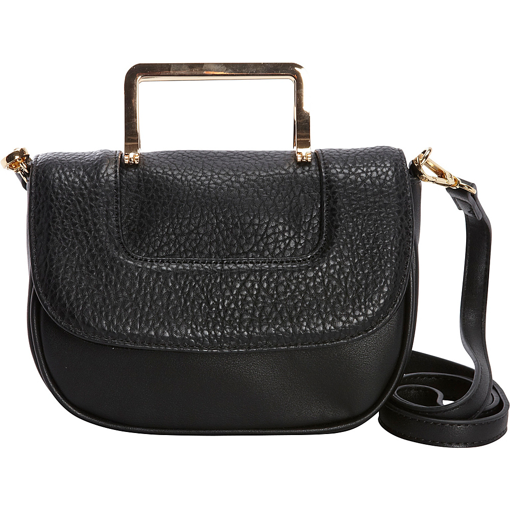 Diophy Convertible Crossbody Black Diophy Manmade Handbags