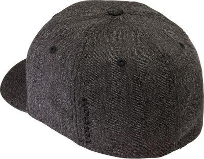 Volcom Full Stone Heather Xfit Hat L/XL - Charcoal Heather - Volcom Hats/Gloves/Scarves