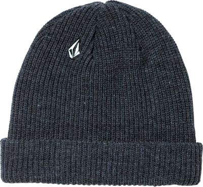 Volcom Full Stone Beanie One Size - Charcoal Heather - Volcom Hats/Gloves/Scarves
