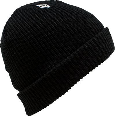 Volcom Full Stone Beanie One Size - Black - Volcom Hats/Gloves/Scarves