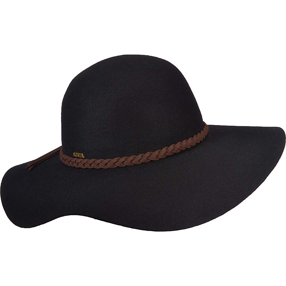 Scala Hats Wool Floppy Hat Black Scala Hats Hats Gloves Scarves