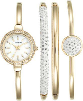 Anne Klein Watches Women's Watch Gold - Anne Klein Watches Watches