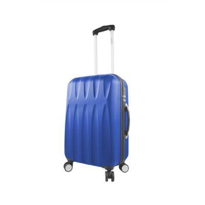 Mia Viaggi ITALY Positano 24 inch Hardside Spinner Blue - Mia Viaggi ITALY Hardside Checked