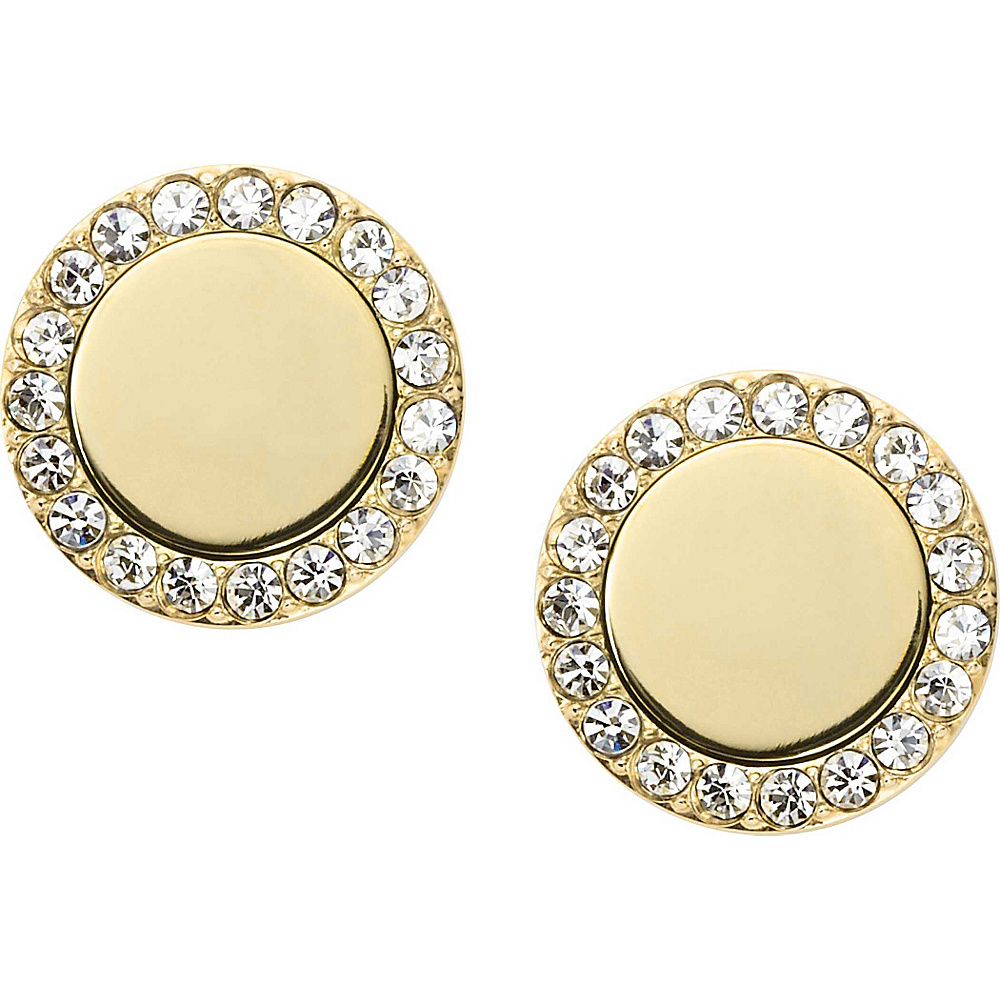 Fossil Heritage Studs Gold - Fossil Other Fashion Accessories - Fashion Accessories, Other Fashion Accessories