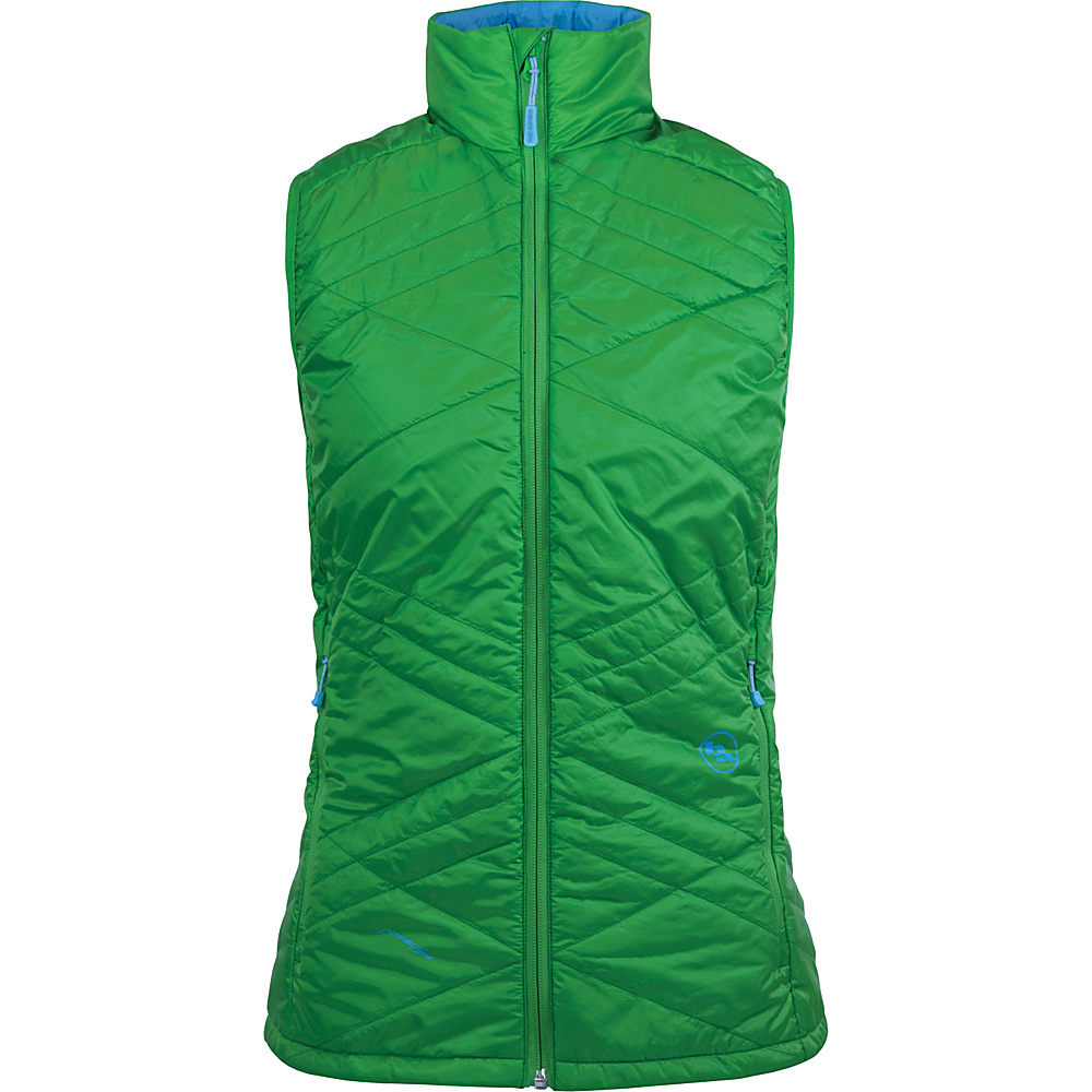 Big Agnes Womens Lucky Penny Vest L Emerald Blue Topaz Big Agnes Women s Apparel