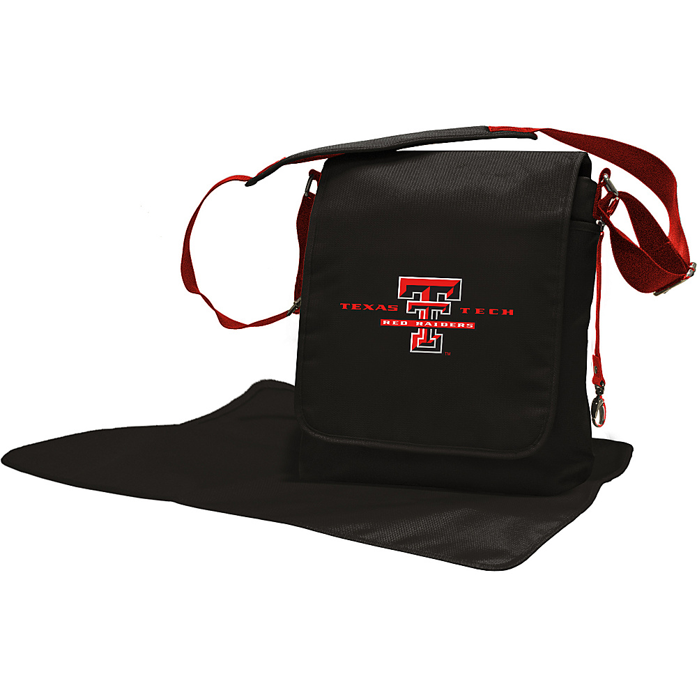 Lil Fan Big 12 Teams Messenger Bag Texas Tech University - Lil Fan Diaper Bags & Accessories