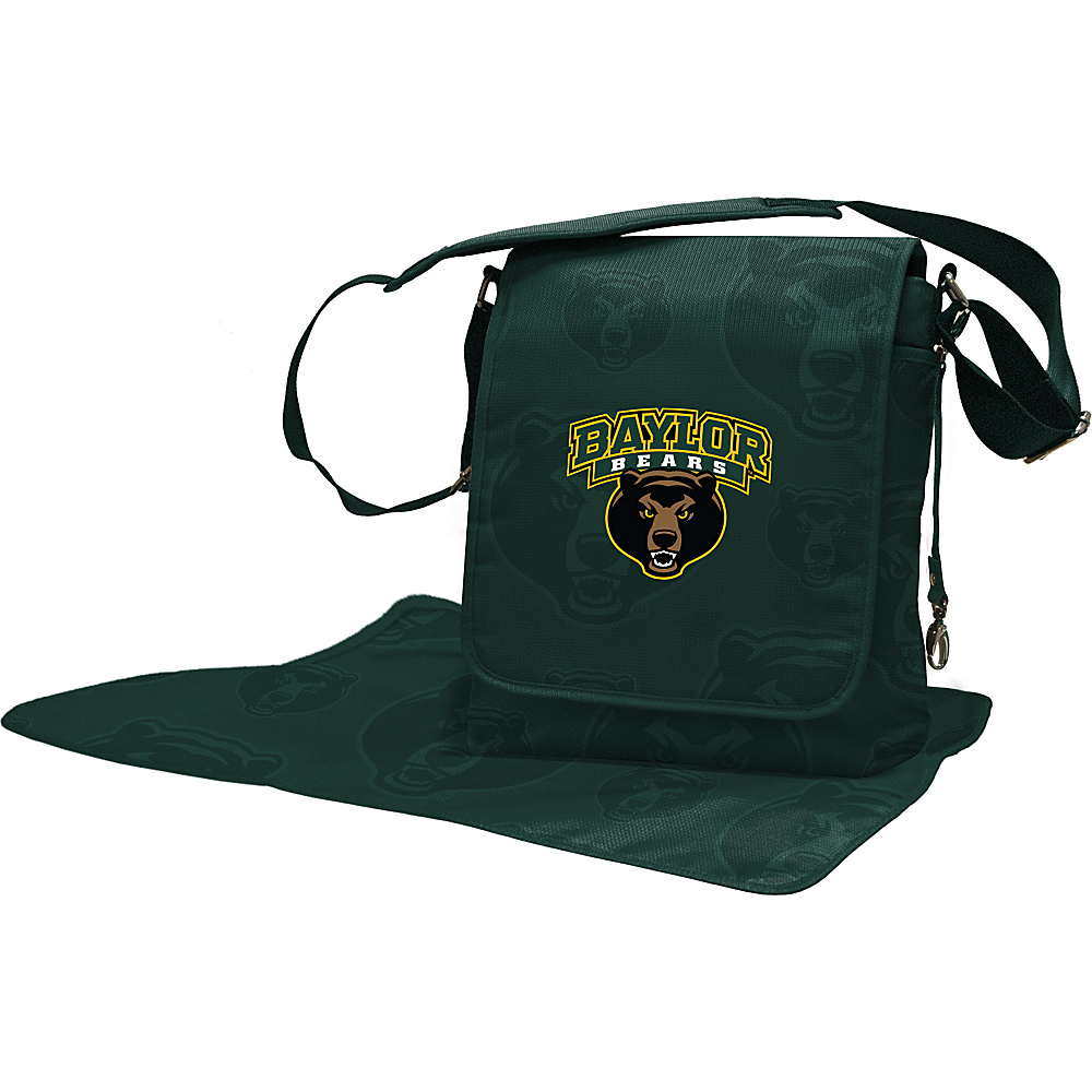 Lil Fan Big 12 Teams Messenger Bag Baylor University - Lil Fan Diaper Bags & Accessories
