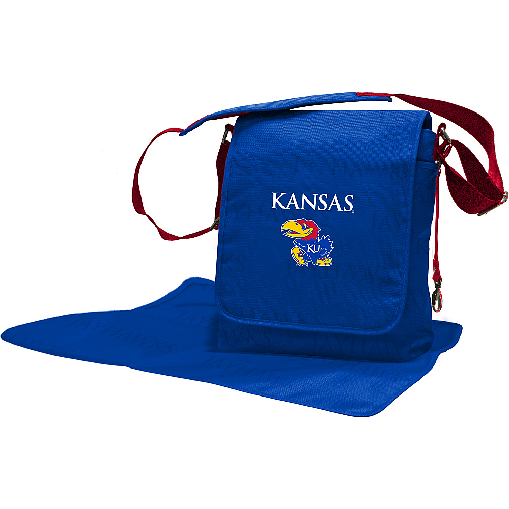 Lil Fan Big 12 Teams Messenger Bag University of Kansas - Lil Fan Diaper Bags & Accessories