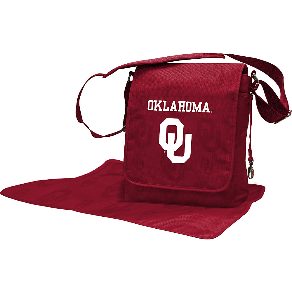 Lil Fan Big 12 Teams Messenger Bag University of Oklahoma - Lil Fan Diaper Bags & Accessories