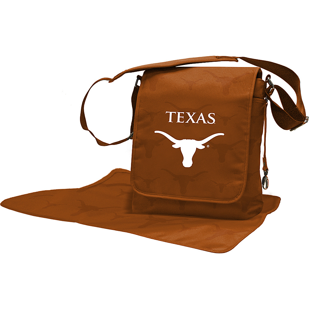Lil Fan Big 12 Teams Messenger Bag University of Texas Lil Fan Diaper Bags Accessories