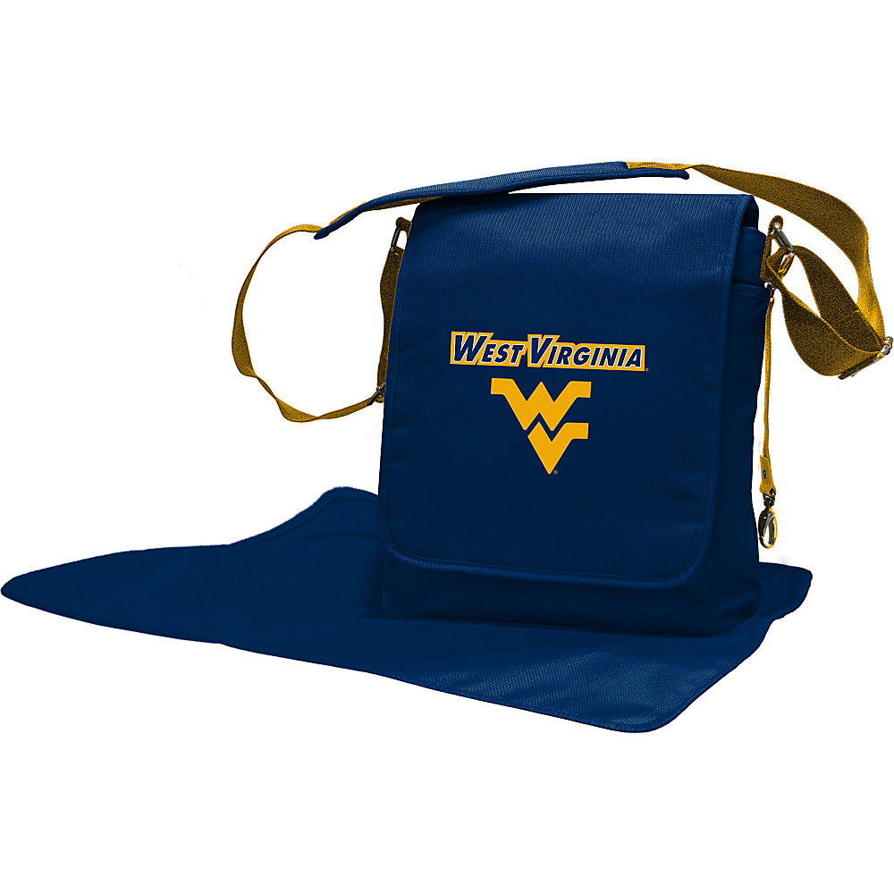 Lil Fan Big 12 Teams Messenger Bag West Virginia University - Lil Fan Diaper Bags & Accessories