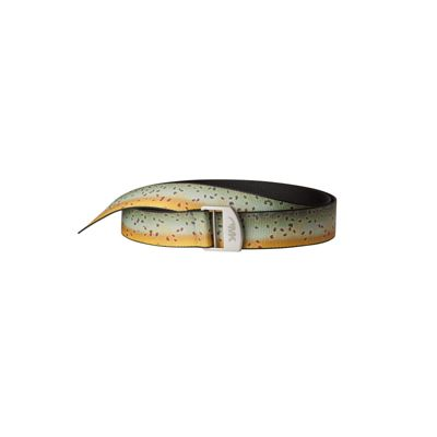 Mountain Khakis Trout Webbing Belt One Size - Brown Trout - Mountain Khakis Other Fashion Accessories