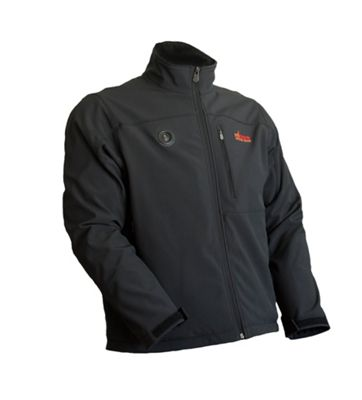 My Core Control Mens Heated Softshell Jacket L - Black - My Core Control Men's Apparel