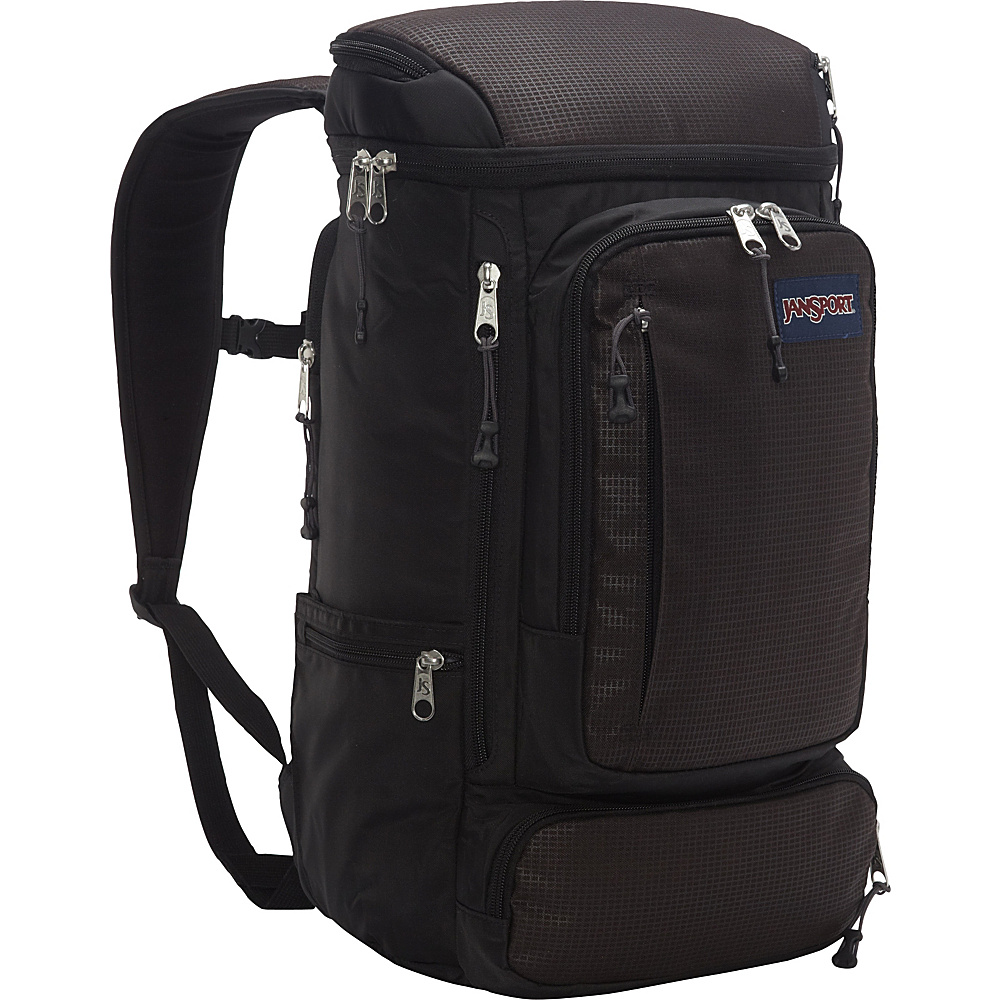 JanSport Sentinel Laptop Backpack Black - JanSport Business & Laptop Backpacks